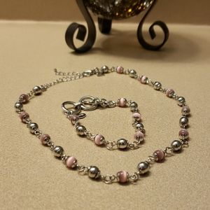 Cookie Lee Necklace and Bracelet